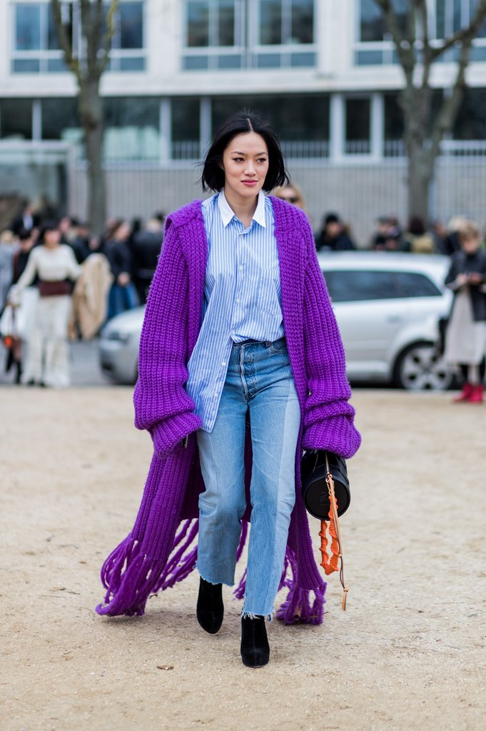 Drape-Yourself-Oversize-Purple-Cardigan