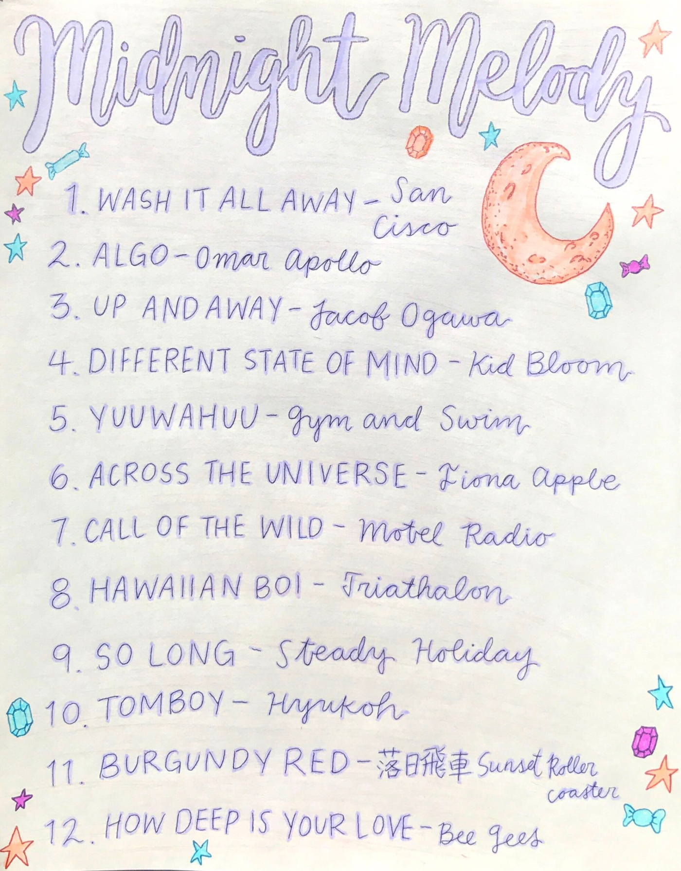 Midnight Melody Playlist